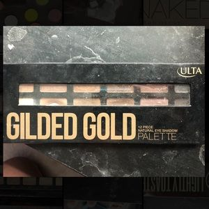 Ulta eyeshadow palette glided gold